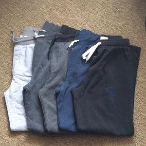 Old Navy Sweatpants 14-16 5 pair
